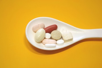pillole in cucchiaino