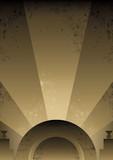 Fototapety Art Deco Futurist style background design