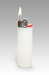 Lighter with clipping path.