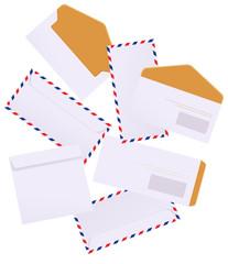Envelopes on isolated background