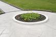 walkway flower bed - 12166095