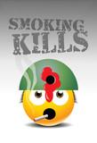 smoking kills poster