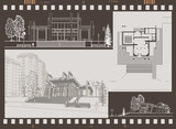 exhibition pavilion draft poster