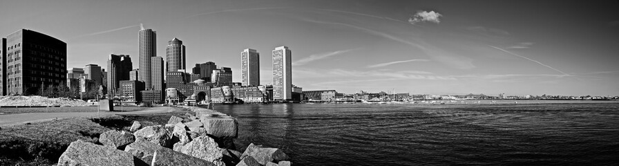 boston harbor panorama
