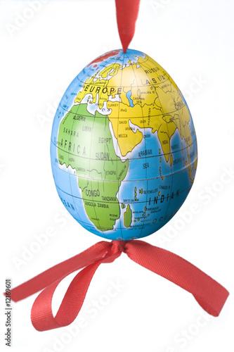 Easter Egg as Earth - 12169601