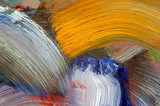 brush strokes poster
