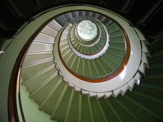 revolving staircase