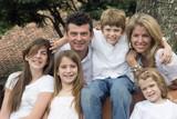 Family enjoying togethe