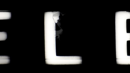universal film, televison leader/countdown
