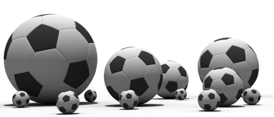 Soccer balls to form miscellaneous