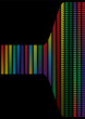 Abstract background, rainbow background with different color
