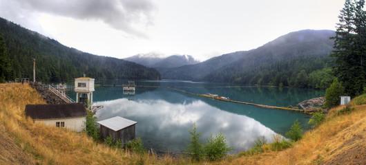 Lake MIlls Panorama