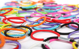 Hair elastics color