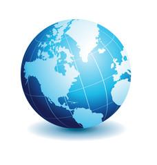 Globe american view