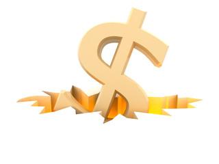 dollar symbol in fracture