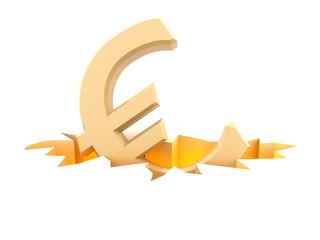 euro symbol in fracture