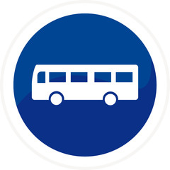 Web button - bus
