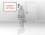 Career and job options for unemployed poster