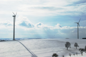 Windpark in Oberösterreich