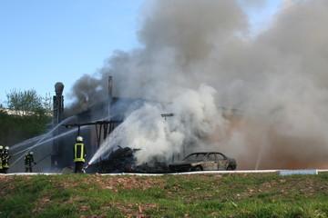 Großbrand - Feuer