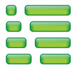 Rectangular Buttons (various lengths) (green)