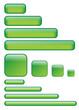 Boutons Rectangulaires et Carrés (verts)