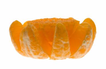 Peeled crushed citrus