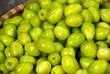 Chineses apples at a market