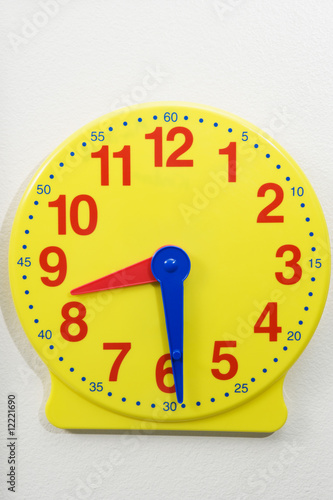 Time Teaching Clock