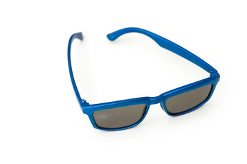 Blue sun glasses