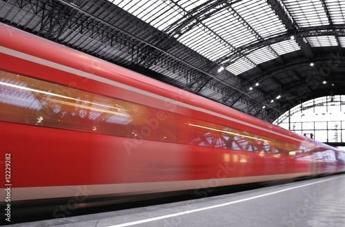 Ankunft Bahn
