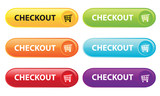 Fototapety Checkout Buttons