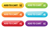 Fototapety Add to Cart Buttons