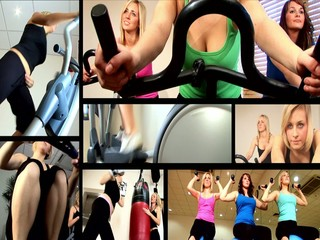 Health & Fitness Montage