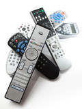 Fototapety bunch of remotes
