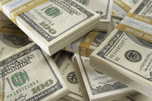 Stack of US Currency