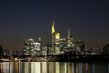 Skyline Deutschherrnufer Frankfurt 2-2009