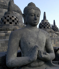 Indonesia, Java, Borobudur