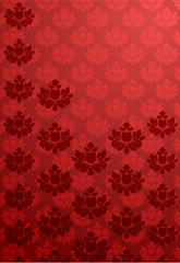Red glamour pattern
