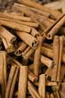 uae, dubai, cinnamon sticks for sale at the spice souq in deira