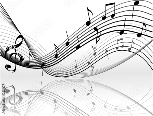 Music Notes By Jelena Zaric Royalty Free Vectors 12251677 On Fotolia