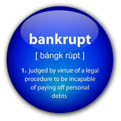 """bankrupt"" definition button"