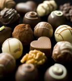 Fototapete Süßigkeiten - Truemmer - Konfiserie