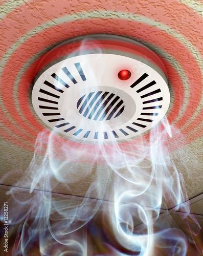 alarm smoke detector