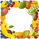 cornice vegetale poster