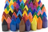 Naklejka Wax crayons