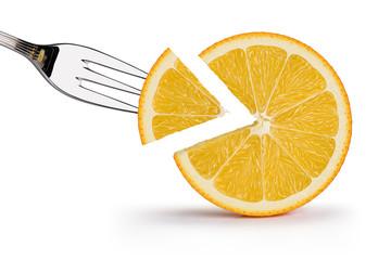 Orange illustration 6