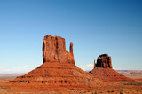 East and West Mittens of the Monument Valley poster