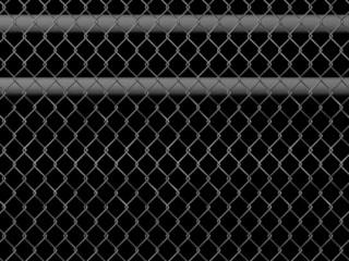 mesh wire fence