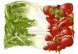 verdure tricolore